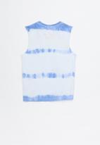 Cotton On - Orson tank - white & blue