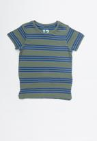 Cotton On - Max short sleeve tee - blue & green
