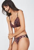 Cotton On - Ultimate comfort bra - brown & black