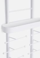 Umbra - Valerina over the door jewelry organizer - white
