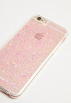 Typo - Transparent iPhone cover - pink