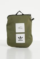 adidas Originals - Packable cap - khaki & white
