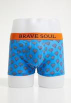 Brave Soul - 3 Pack balloon boxers - multi