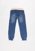 name it - Kids girls denim jeans - blue