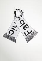 Superbalist - Slogan scarf - black & white