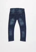 name it - Tingo slim denim pants - dark blue