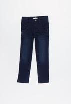 name it - Silas denim long pants - dark blue