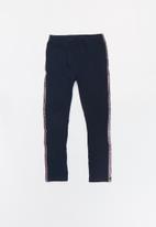name it - Kids girls rastri leggings - navy