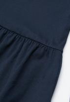 name it - Kids girls long sleeve dress - navy
