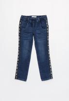 name it - Kids boys robin denim pants - dark blue