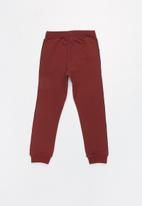 name it - Kids boys ramon sweat pants - burgundy