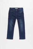 name it - Twic regular denim pants - dark blue