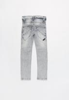 name it - Theo classic denim pants - grey