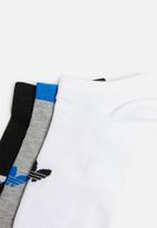adidas Originals - Women's 3pk trefoil liner sock - multi