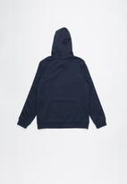 Nike - Nike repeat poly hoodie - navy