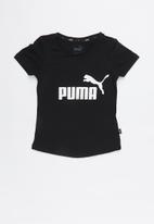 PUMA - ESS tee - black