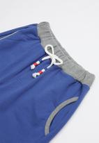 POP CANDY - Elasticated shorts - blue