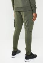 Only & Sons - Kendrick chino print sweatpant exp - green