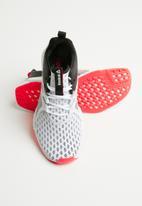 Reebok - Fusium run 2.0 - white/black/neon red/silver