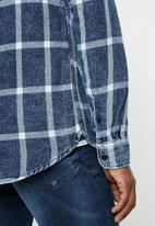 Only & Sons - Otis checked shirt - blue