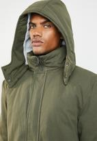 Superbalist - Padded parka jacket - green