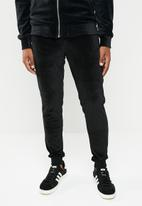 Only & Sons - Travis velvet sweat pant - black
