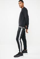 Only & Sons - Wf william poly cuff track pants exp - black