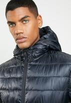 Only & Sons - Hooded puffer - navy