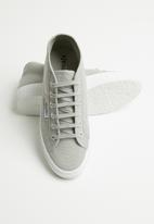 SUPERGA - 2754 cotu classic canvas mid boot - Lt Grey/White