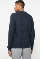 Only & Sons - Crew neck knit  - navy