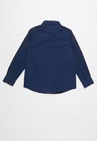 POLO - Nicholas classic shirt - navy