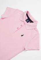 POLO - Zoe printed golfer - pink