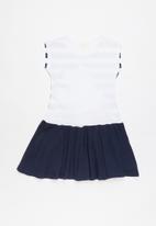 Character Fashion - Printed sleeveless dress - navy