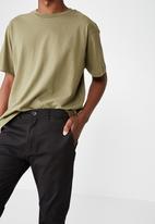 Cotton On - Knox chino pant - black