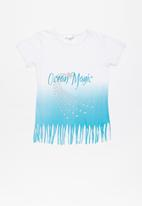 POP CANDY - Printed tee - white