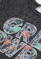 POP CANDY - Printed short sleeve tee - black