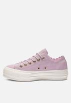 Converse - Chuck Taylor All Star Lift - OX - pink foam / gold / egret