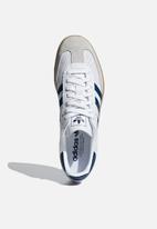 adidas Originals - SAMBA OG - ftwr white/legend marine/Grey
