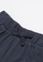 POP CANDY - Elasticated shorts - navy