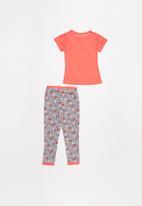 POP CANDY - Unicorn short sleeve & jogger pyjamas set - multi