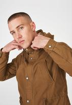 Cotton On - Nu military jacket - tan