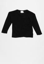 See-Saw - Jersey with pocket - black
