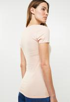 GUESS - Short sleeve g tri T-shirt - pink