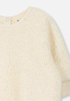 Cotton On - Avery cozy pullover - cream