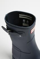 b8577840d Original refined short matte - navy Hunter Boots