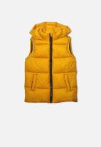 Cotton On - Billie puffer vest - yellow