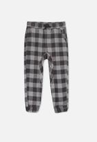 Cotton On - Alfi jogger pant - grey & charcoal