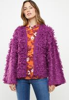 Noisy May - Merja long sleeve knit - purple