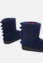 Cotton On - Novelty homeboot - navy