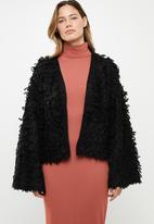 Noisy May - Merja long sleeve knit - black